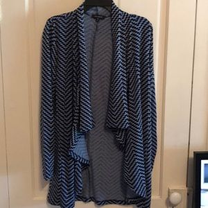 Brand New cascading cardigan from The Limited